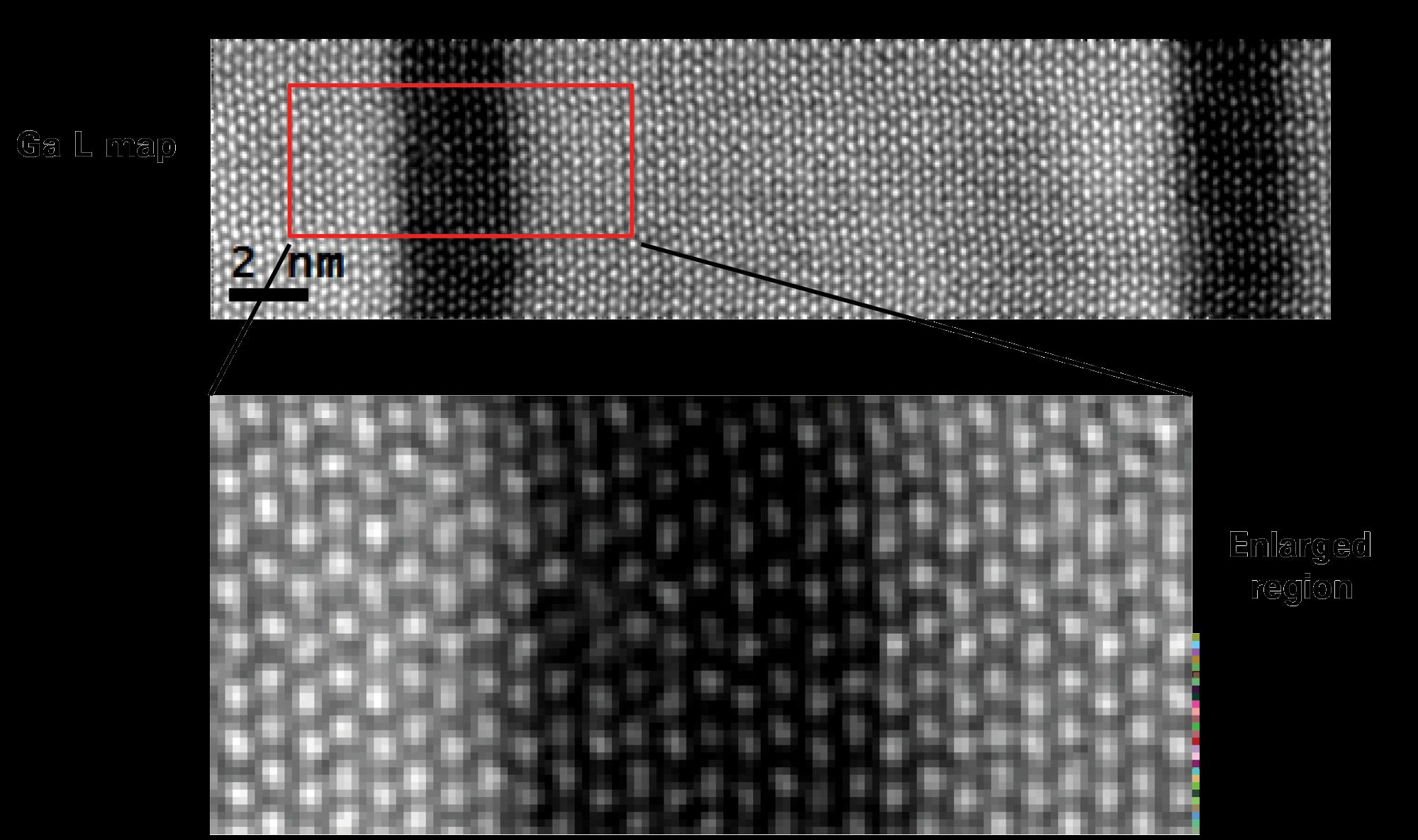 Atomic level EELS prepared in PIPS II system following FIB preparation (image 2)