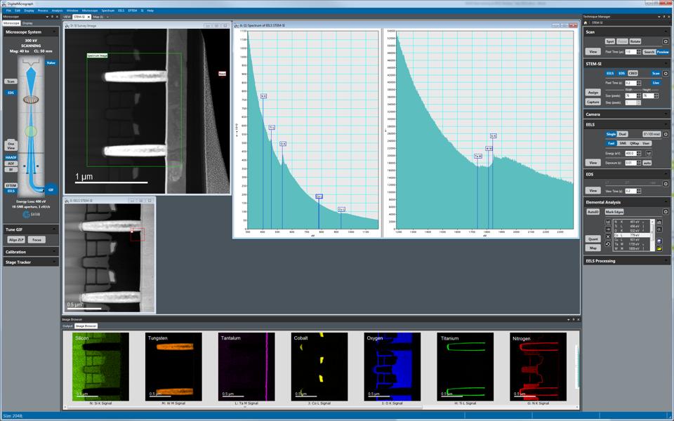 GMS 3 software screen shot