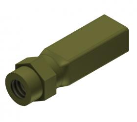 Rectangular Cutting Tool, 4.0 x 5.0 mm