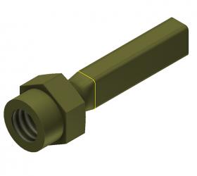 Rectangular Cutting Tool, 2.0 x 3.0 mm