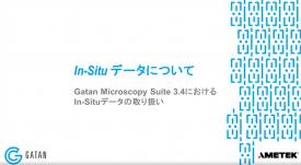 GMS 3.4におけるIn-Situデータの取り扱い:In-Situデータについて