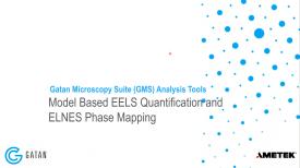 GMS 3.4 分析工具:基于模型的 EELS 定量分析和 ELNES 相分布分析