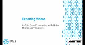 GMS 3.4 原位数据处理 :从 原位数据中导出视频