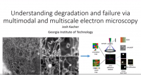 Understanding deformation and failure mechanisms via multimodal and multiscale electron microscopy