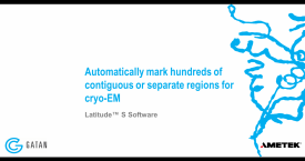 Automatic Targeting for Cryo-EM with Latitude S Software