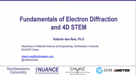 NUANCE Workshop on 4D STEM