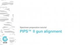 PIPS II离子减薄仪使用中的样品台和离子束调试教程;