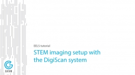 Electron energy loss spectroscopy (EELS) tutorial on STEM imaging.