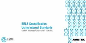 EELS Quantification: Using Internal Standards