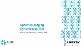 Spectrum image dynamic map tool