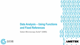 Data analysis using functions and fixed references