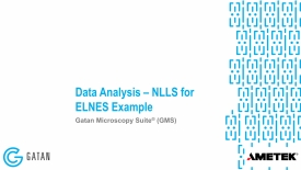 NLLS for ELNES example