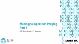GIF Continuum: Multisignal Spectrum Imaging, Part 1 of 3