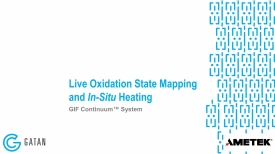 Live Oxidation State Mapping and In-Situ Heating
