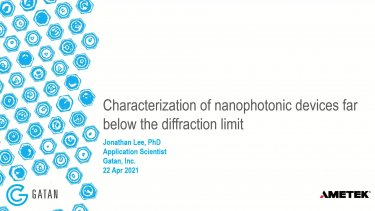 Characterization of nanophotonic devices far below the diffraction limit workshop