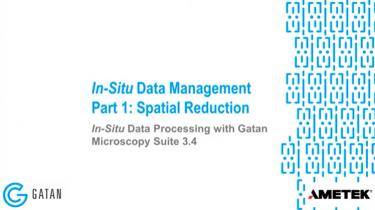GMS 3.4 原位数据处理 :原位数据管理,第1部分 – 在空间尺度上缩减数据体量