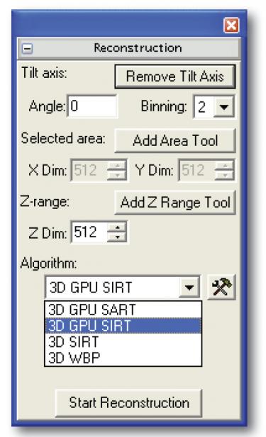 GPU Reconstruction Palette
