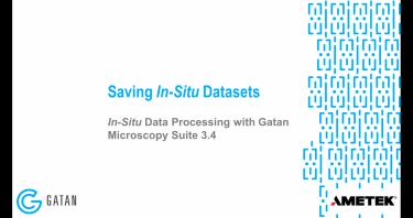 GMS 3.4 原位数据处理 :保存原位数据