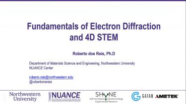 NUANCE Workshop on 4D STEM