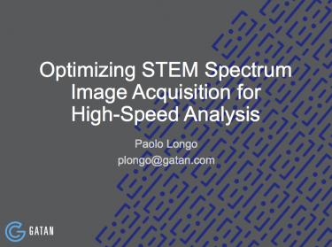 采用STEM技术进行高速分析数据获取的研讨会