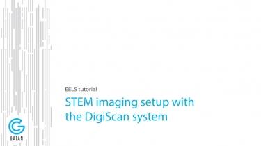 STEM-EELS模式下的谱图数据采集;