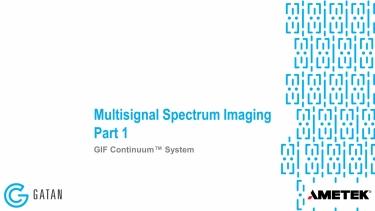 GIF Continuum: Multisignal Spectrum Imaging, Part 1 of 3
