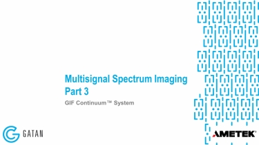 GIF Continuum: Multisignal Spectrum Imaging Part 3 of 3