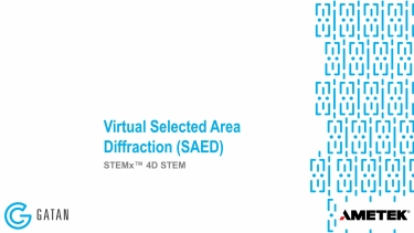Virtual Selected Area Diffraction
