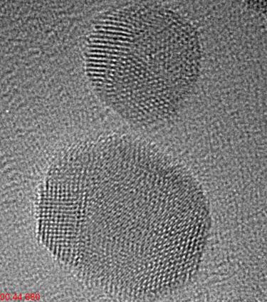 金纳米颗粒的烧结(2)