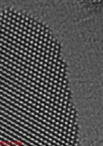 Au nanocrystal reorientation (video)